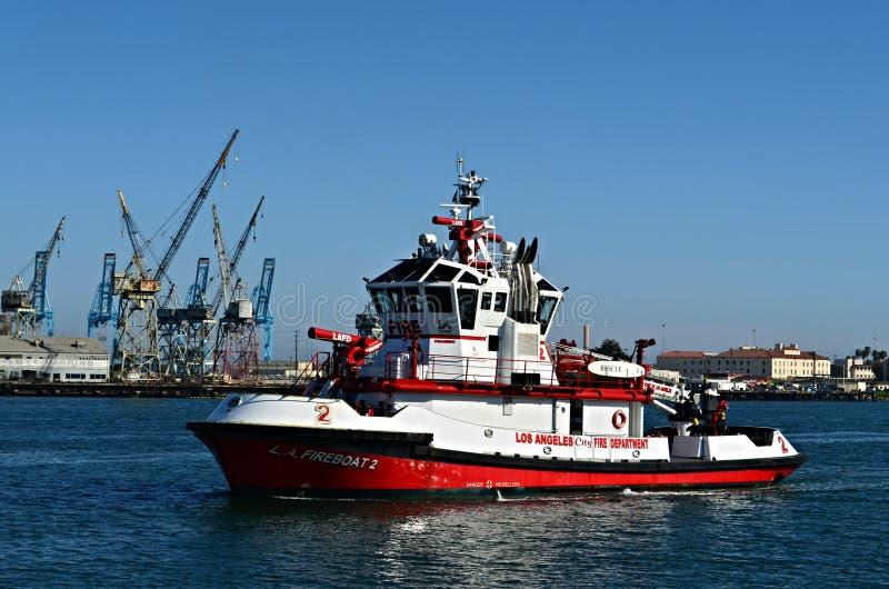 Πυροσβεστικό πλοίο Λα στοκ εικόνα