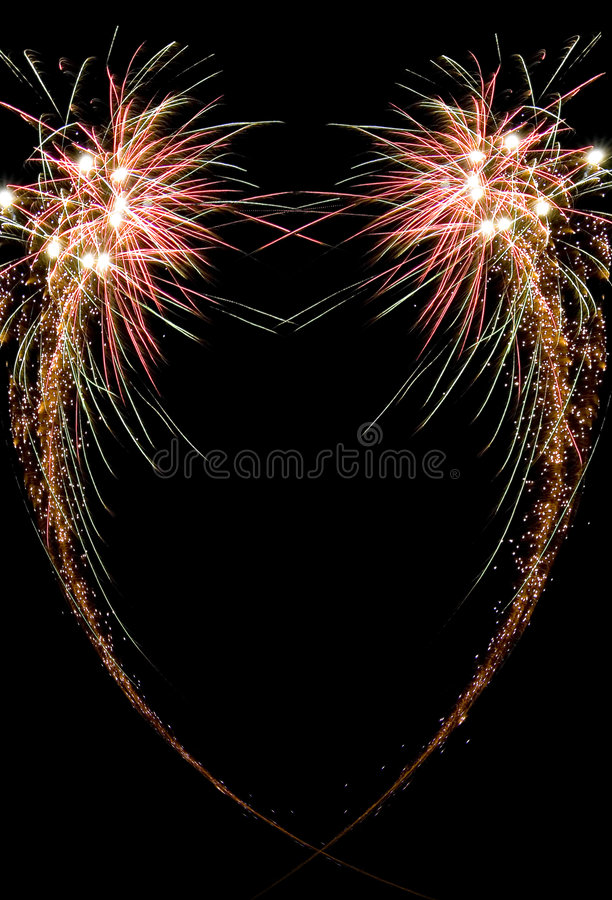 πυροτέχνημα εορτασμού στοκ εικόνες