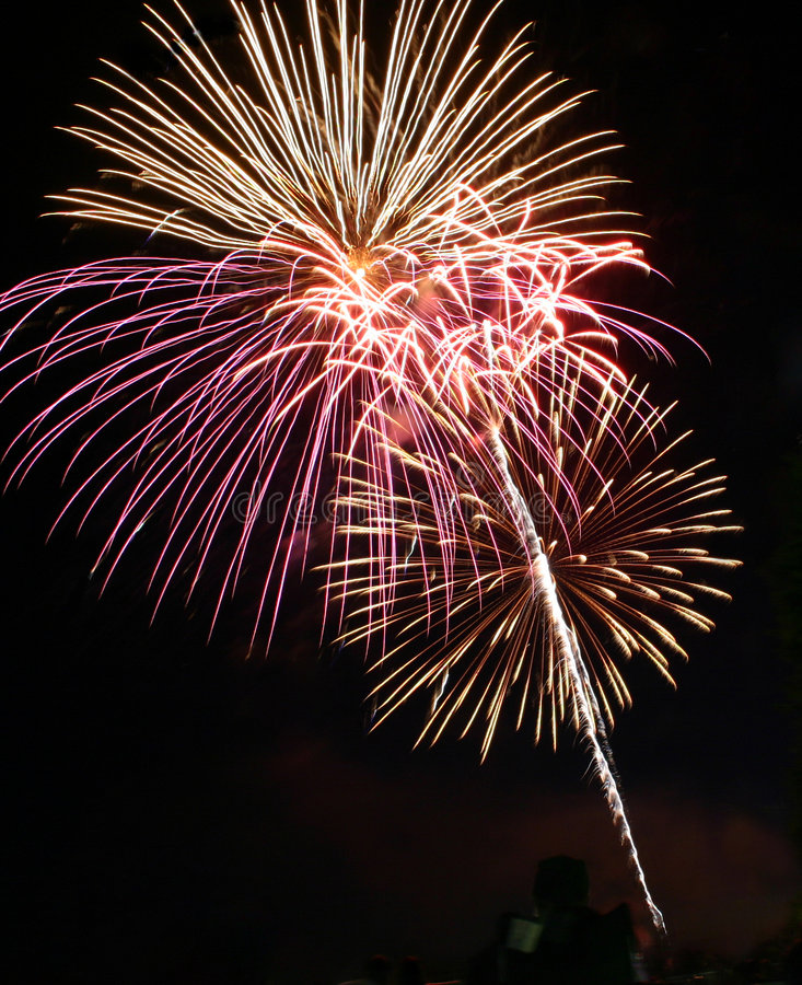 πυροτεχνήματα ι Στοκ φωτογραφίες με δικαίωμα ελεύθερης χρήσης