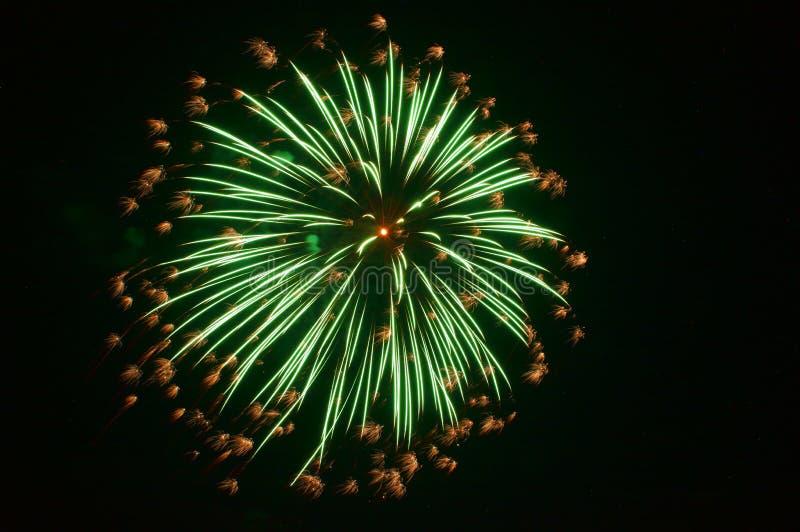 Πυροτεχνήματα σε Omimaiko, Otsu, Shiga, Ιαπωνία στοκ εικόνα με δικαίωμα ελεύθερης χρήσης