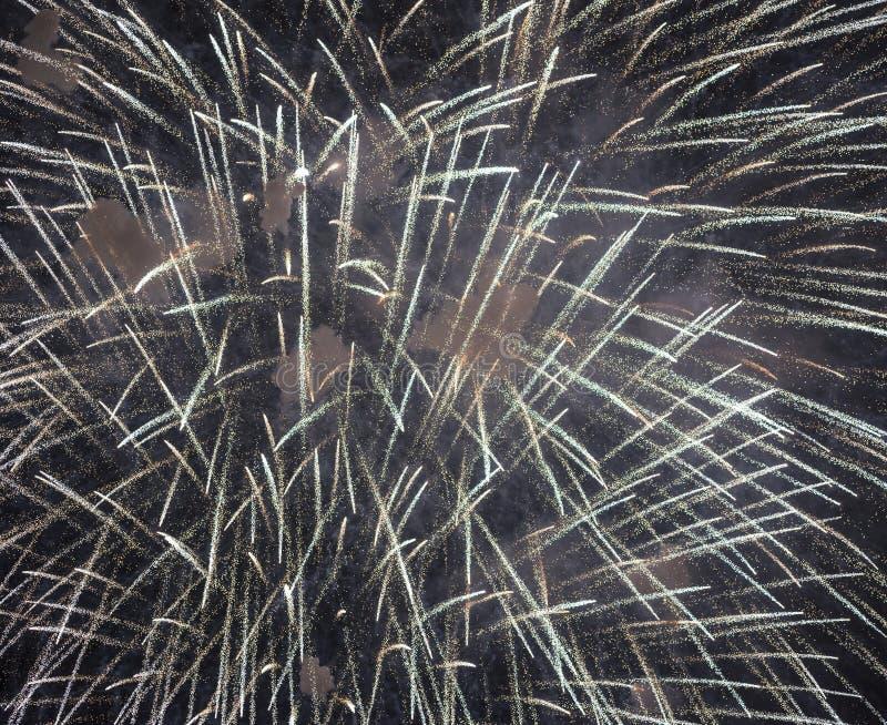 Πυροτεχνήματα σε Rapallo στοκ φωτογραφία