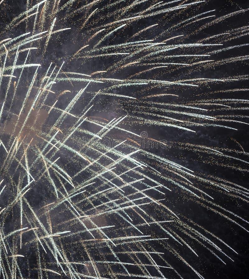 Πυροτεχνήματα σε Rapallo στοκ φωτογραφία με δικαίωμα ελεύθερης χρήσης