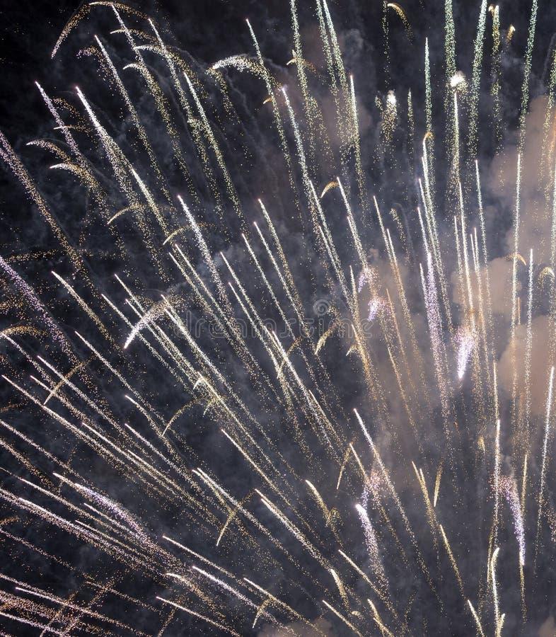 Πυροτεχνήματα σε Rapallo στοκ εικόνα με δικαίωμα ελεύθερης χρήσης