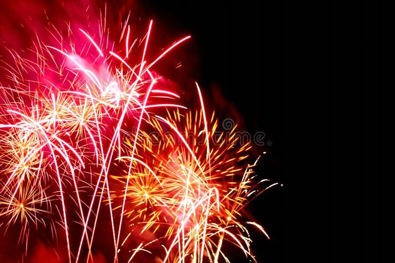 πυροτεχνήματα φεστιβάλ στοκ εικόνες με δικαίωμα ελεύθερης χρήσης