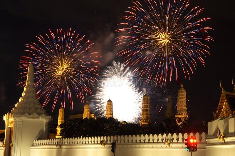 πυροτεχνήματα 1 Μπανγκόκ στοκ φωτογραφία με δικαίωμα ελεύθερης χρήσης