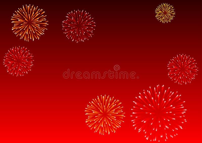 πυροτεχνήματα απεικόνιση αποθεμάτων