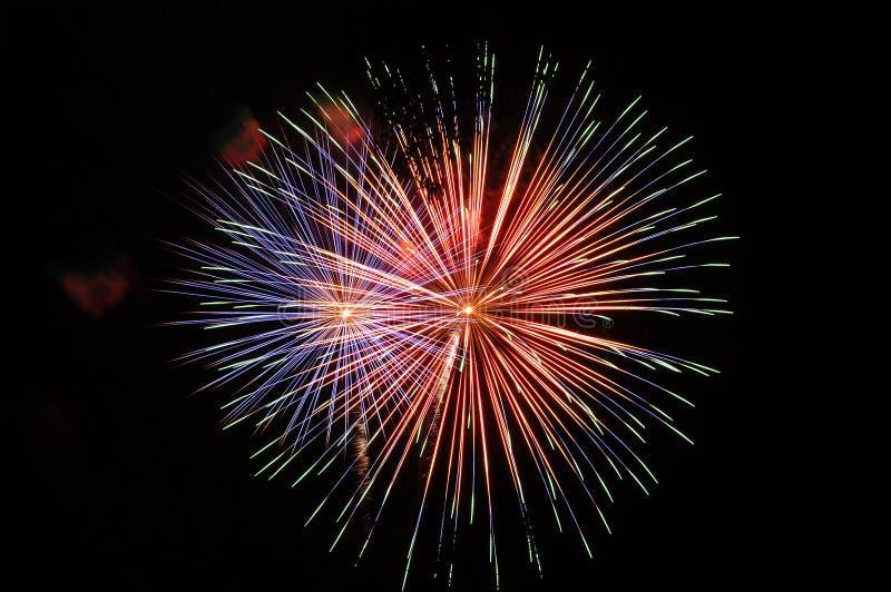Download πυροτεχνήματα στοκ εικόνες. εικόνα από φωτεινότητα, ιούλιος - 62300