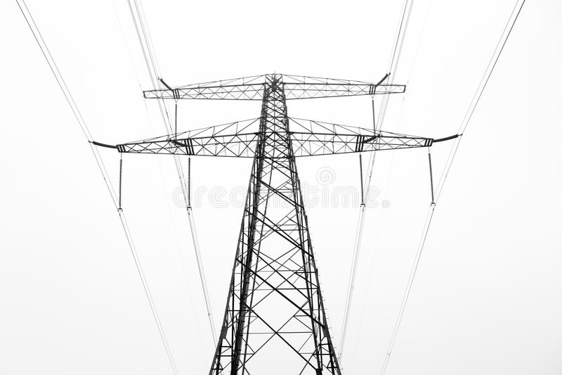 Πυλώνας δύναμης στοκ φωτογραφία με δικαίωμα ελεύθερης χρήσης