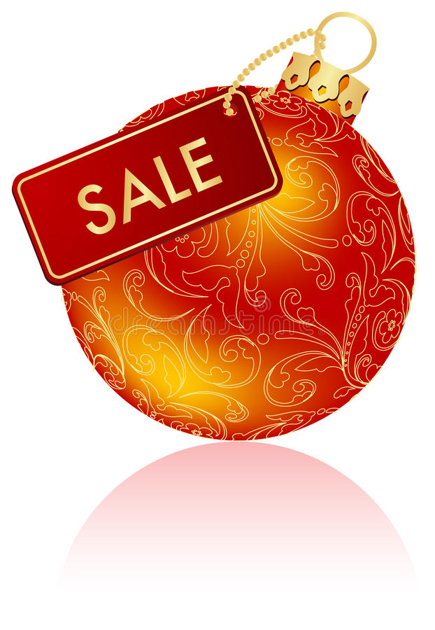 πωλήσεις Χριστουγέννων ελεύθερη απεικόνιση δικαιώματος