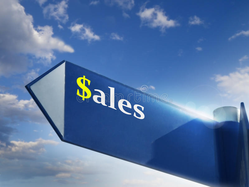πωλήσεις στοκ φωτογραφία