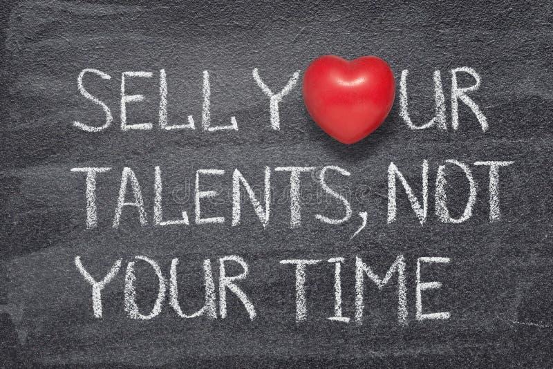 Πωλήστε την καρδιά ταλέντων σας στοκ φωτογραφία με δικαίωμα ελεύθερης χρήσης