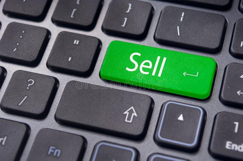 Πωλήστε τις έννοιες για το χρηματιστήριο στοκ φωτογραφίες