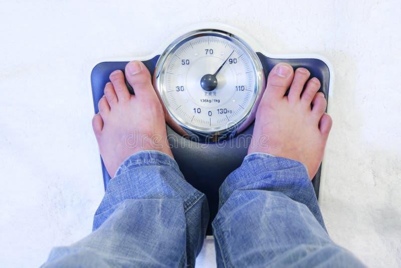 πόδια βάρους κλίμακας