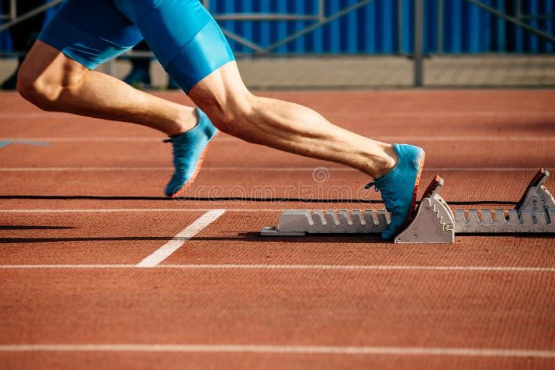 πόδια δρομέων sprinter στοκ εικόνες