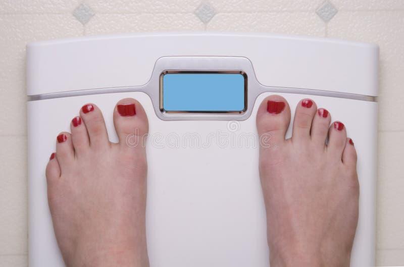πόδια θηλυκής κλίμακας στοκ φωτογραφίες