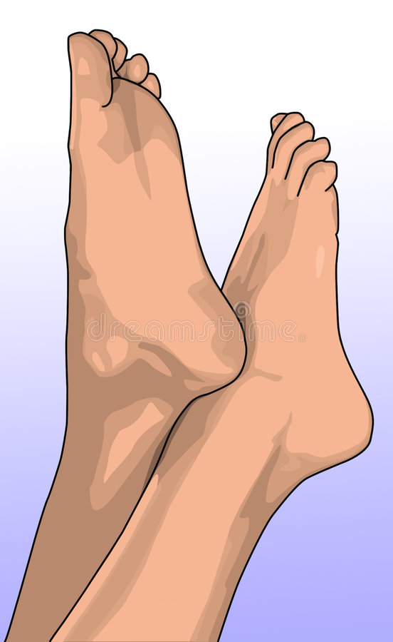 πόδια θηλυκών στοκ φωτογραφία
