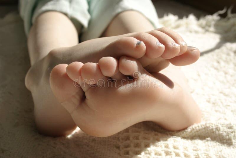 πόδια κοριτσιών στοκ εικόνα