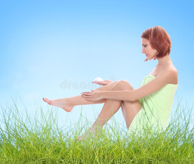 πόδια προσοχής υπαίθρια στοκ φωτογραφία