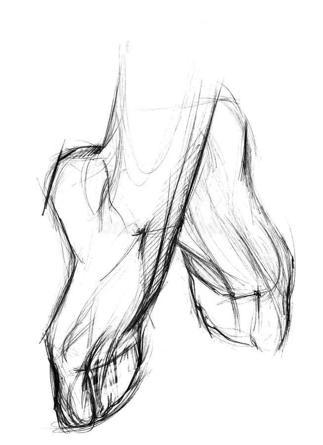 πόδια απεικόνιση αποθεμάτων