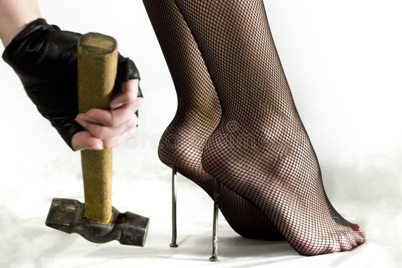 πόδι φετίχ μαζοχιστικό στοκ εικόνα