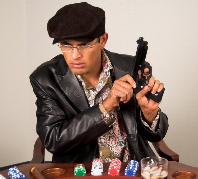 πόκερ γκάγκστερ στοκ εικόνες με δικαίωμα ελεύθερης χρήσης