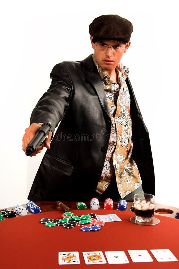 πόκερ γκάγκστερ στοκ φωτογραφίες