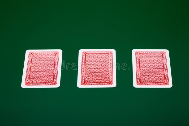 πόκερ καρτών στοκ εικόνες με δικαίωμα ελεύθερης χρήσης