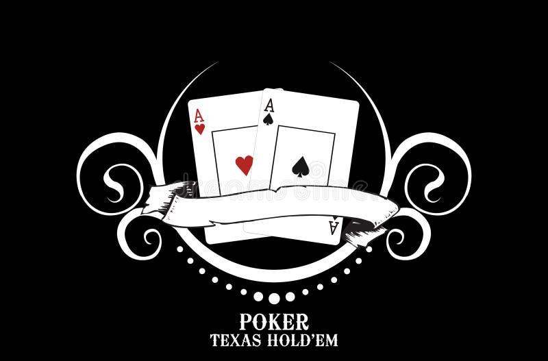 πόκερ λεσχών ελεύθερη απεικόνιση δικαιώματος
