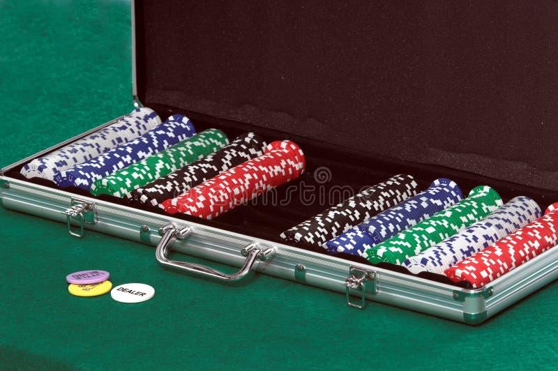 πόκερ τσιπ στοκ εικόνες