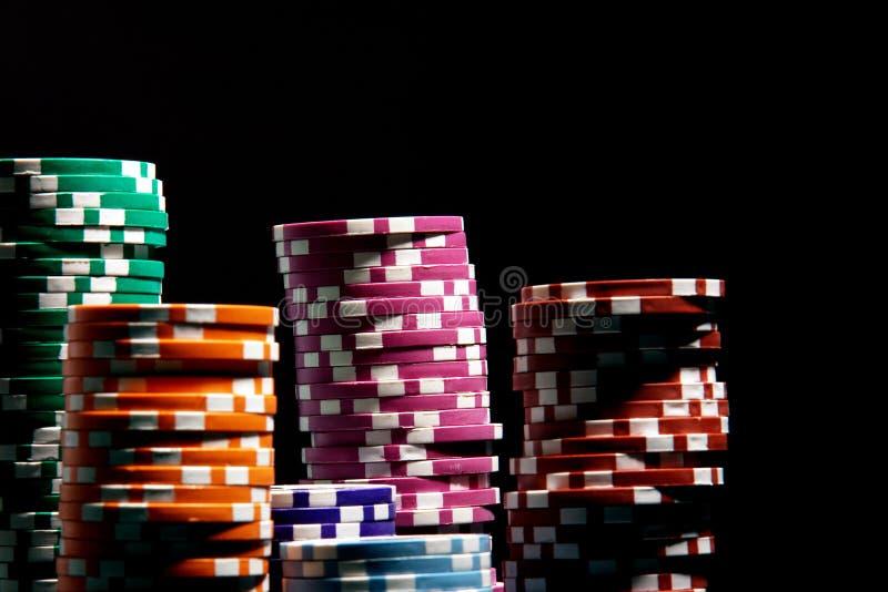 πόκερ τσιπ στοκ εικόνες με δικαίωμα ελεύθερης χρήσης