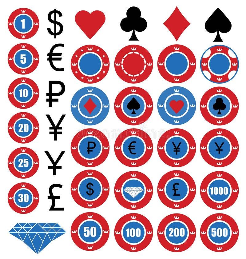 πόκερ διανυσματική απεικόνιση