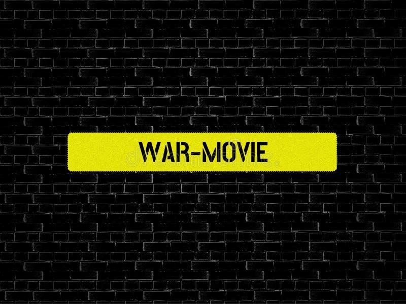 Πόλεμος-ΚΙΝΗΜΑΤΟΓΡΑΦΟΣ - εικόνα με τις λέξεις που συνδέονται με τον ΚΙΝΗΜΑΤΟΓΡΑΦΟ θέματος, λέξη, εικόνα, απεικόνιση ελεύθερη απεικόνιση δικαιώματος