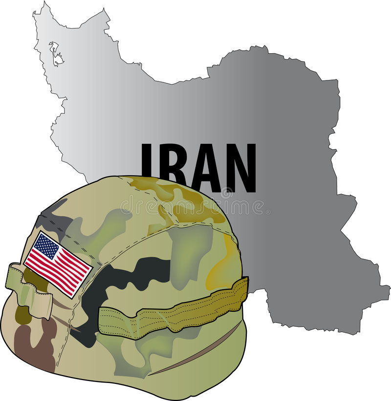 πόλεμος του Ιράν στοκ φωτογραφία με δικαίωμα ελεύθερης χρήσης