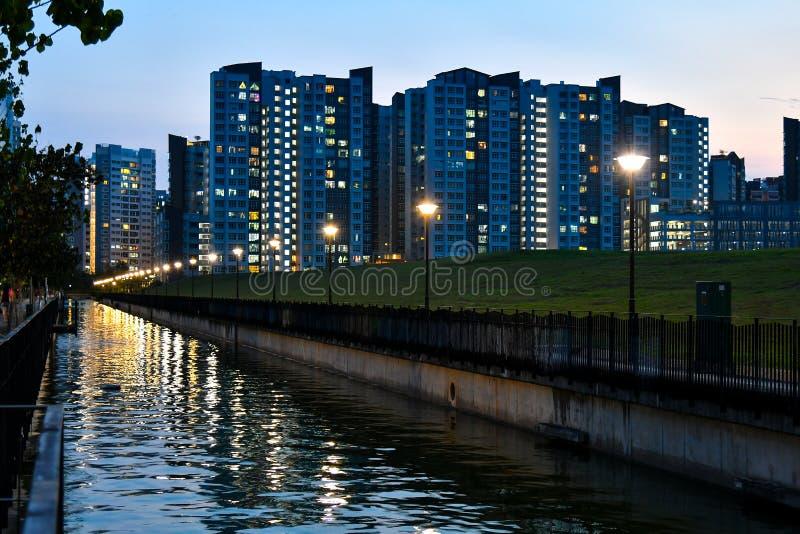 Πόλης άποψη της Σιγκαπούρης HDB στοκ φωτογραφίες