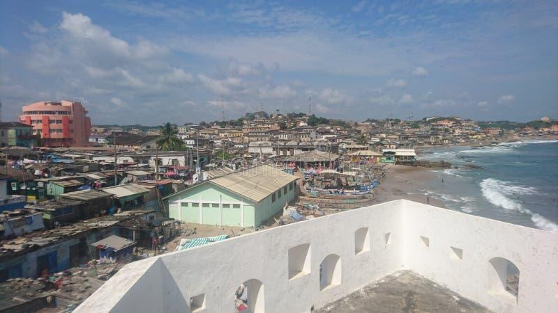 Πόλης άποψη EL Mina Castle στοκ φωτογραφίες με δικαίωμα ελεύθερης χρήσης