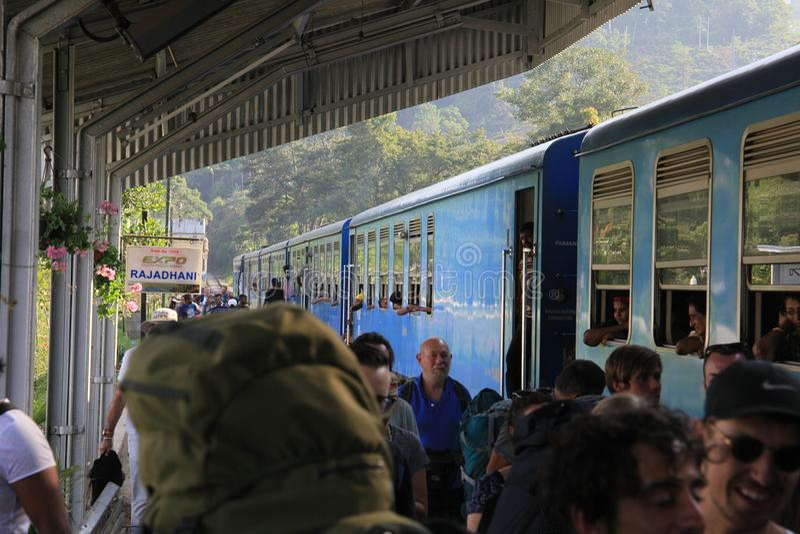 Πόλης σιδηροδρομικός σταθμός της Ella στοκ φωτογραφία