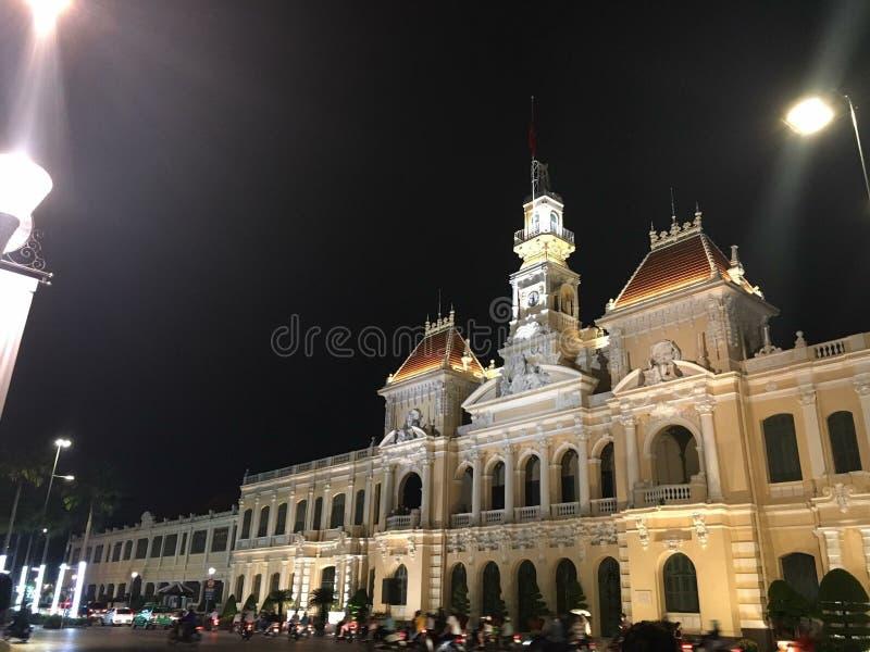 Πόλη βιετναμέζικα του Βιετνάμ Hochimin στοκ φωτογραφία με δικαίωμα ελεύθερης χρήσης