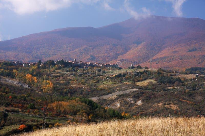 πόλη βουνών στοκ εικόνες