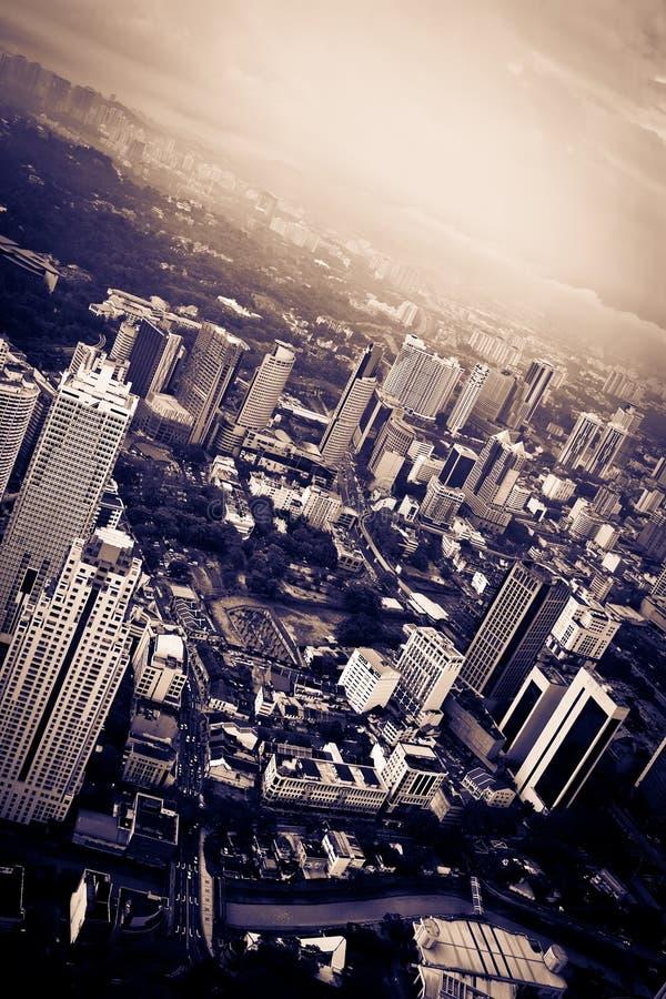πόλη δραματική στοκ εικόνα