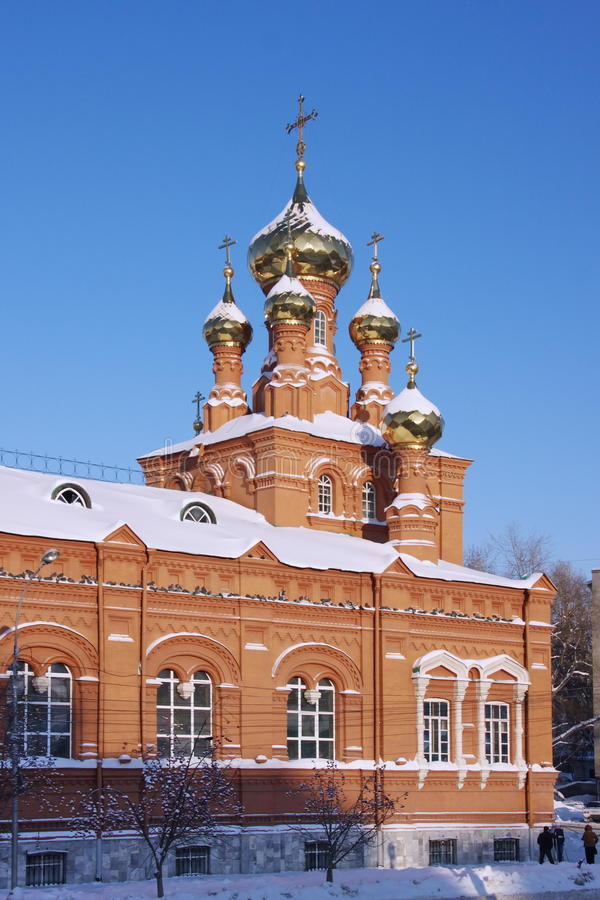 πόλη εκκλησιών ανάβασης perm στοκ φωτογραφία