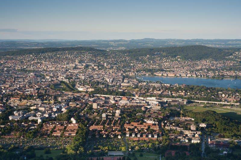 πόλη Ζυρίχη στοκ εικόνα με δικαίωμα ελεύθερης χρήσης