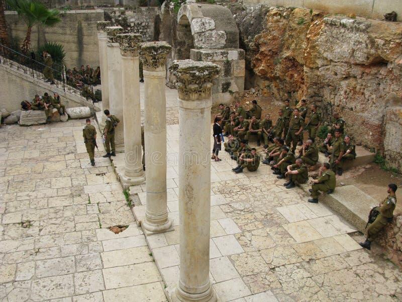 πόλη Ιερουσαλήμ steet στοκ φωτογραφίες με δικαίωμα ελεύθερης χρήσης