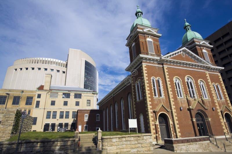 πόλη Κάνσας εκκλησιών στοκ φωτογραφίες