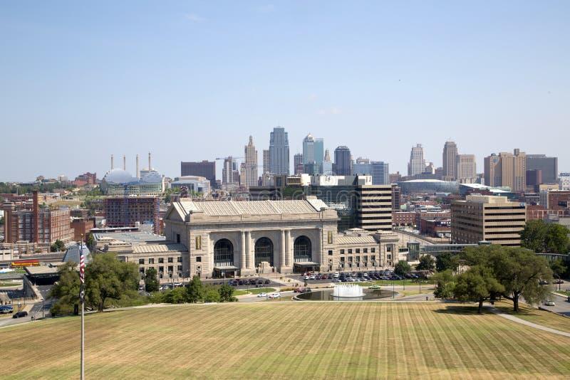 Πόλη Κάνσας στο κέντρο της πόλης Μισσούρι Midwest ΗΠΑ στοκ εικόνες