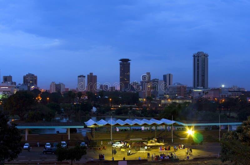 Πόλη Κένυα του Ναϊρόμπι στοκ φωτογραφίες με δικαίωμα ελεύθερης χρήσης
