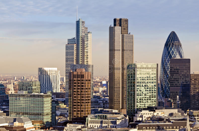 πόλη Λονδίνο στοκ φωτογραφίες με δικαίωμα ελεύθερης χρήσης