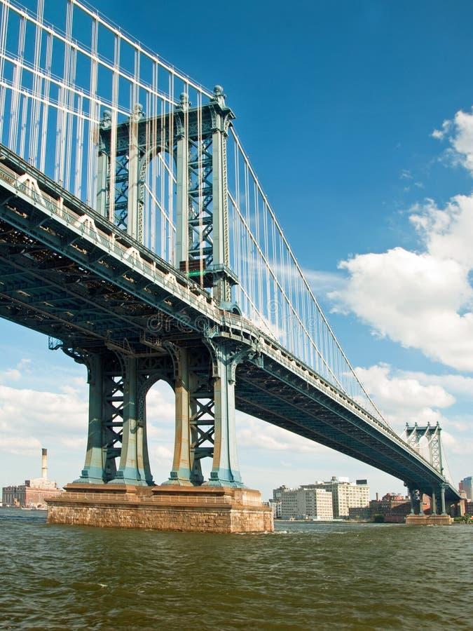 πόλη Μανχάτταν Νέα Υόρκη γεφ&upsil στοκ εικόνες με δικαίωμα ελεύθερης χρήσης