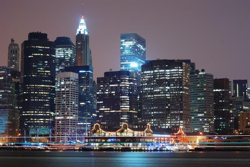 πόλη Μανχάτταν Νέα Υόρκη στοκ φωτογραφίες με δικαίωμα ελεύθερης χρήσης