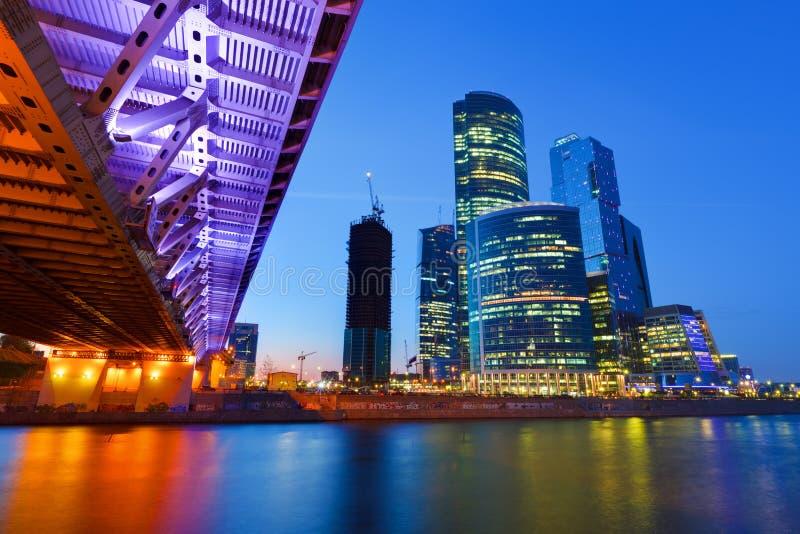 πόλη Μόσχα στοκ φωτογραφία