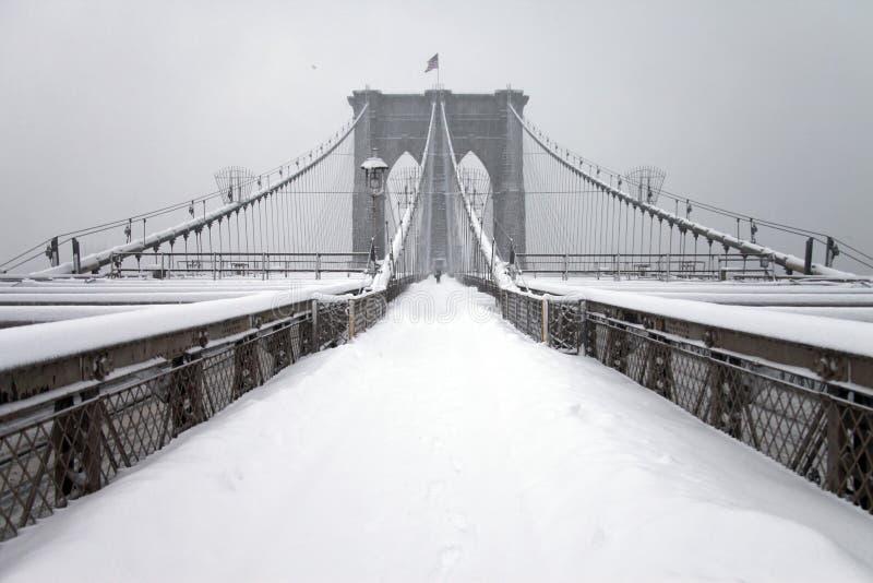 Download πόλη Νέα Υόρκη του Μπρούκλι&n Εκδοτική εικόνα - εικόνα από ορόσημο, χειμώνας: 13186815